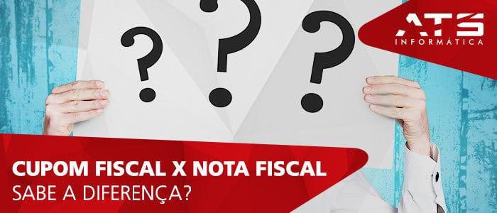 Você sabe a diferença entre cupom fiscal e nota fiscal?
