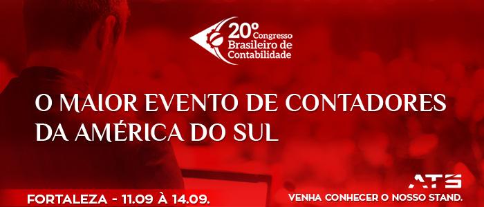 A ATS estará presente no maior evento de contabilidade da América Latina